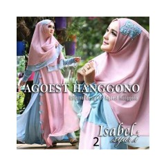 Koleksi Terbaru Busana Muslim Isabel Syar'i by Agoes Hanggono 2