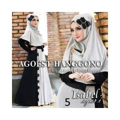 Koleksi Terbaru Busana Muslim Isabel Syar'i by Agoes Hanggono 5