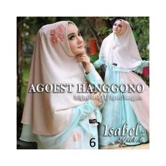 Koleksi Terbaru Busana Muslim Isabel Syar'i by Agoes Hanggono 6