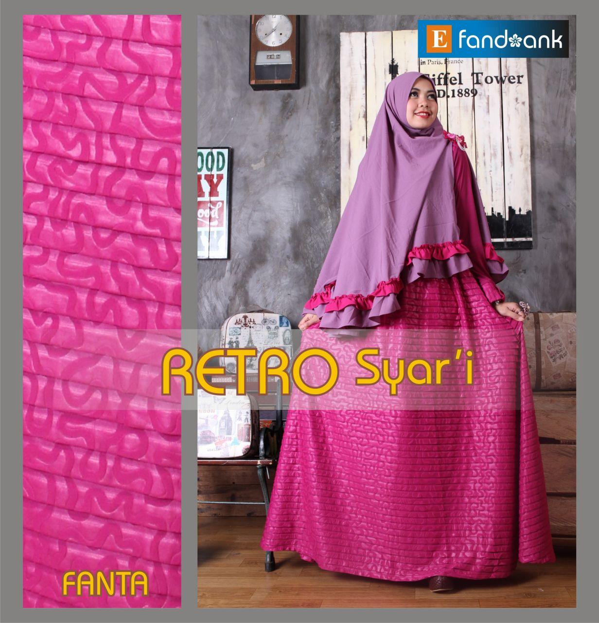 Retro Vol 2 Fanta Baju Muslim Gamis Modern