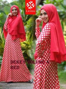 Model Terbaru Busana De'key Syar'i by Layra Red