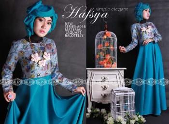 Model Terbaru Busana Muslim Wanita Modern Balimo Hafsya Tosca