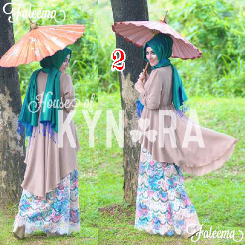Trend Baju Muslim Modern Fateema by Kynara 2