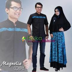 Trend Baju Muslim Syar'i Magnolia by Friska Hitam