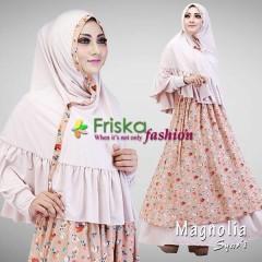 Trend Baju Muslim Syar'i Magnolia by Friska Khaki