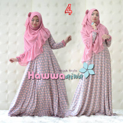 Trend Busana Muslim Syar'i Afia by Hawwaaiwa 4