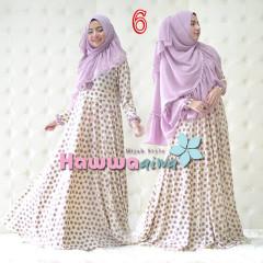 Trend Busana Muslim Syar'i Afia by Hawwaaiwa 6