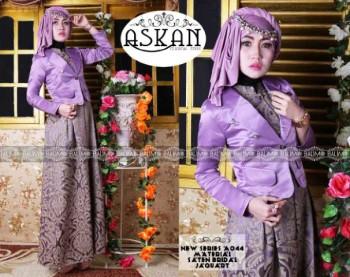 Trend Busana Muslim Terbaru Balimo Askan Purple