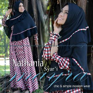 Trend Busana Muslimah Modern Natania vol.3 by Mayra Hitam