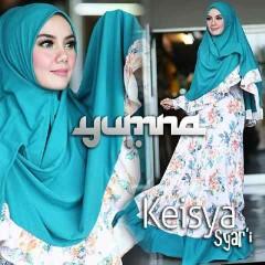 Trend Busana Muslimah Terbaru Keisya Syar'i by Yumna Tosca-White