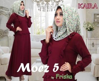 Trend Busana muslim Wanita Modern Kaira by Friska Plume