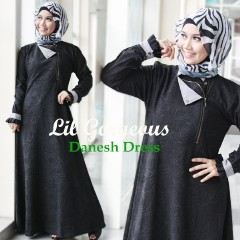 Trend Terbaru Busana Muslim Danes by Lil Gorgeous Hitam