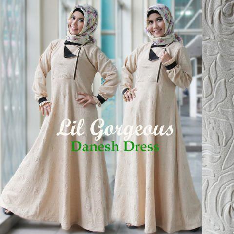 Trend Terbaru Busana Muslim Danes by Lil Gorgeous Krem