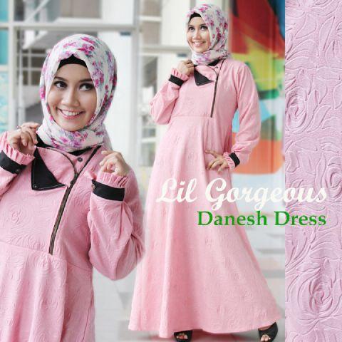 Trend Terbaru Busana Muslim Danes by Lil Gorgeous Pink