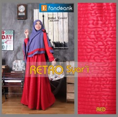 Trend Terbaru Busana Muslim Retro Syar'i by Efandoang Red