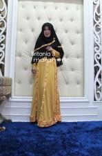 Trend Terbaru Busana Muslim Wanita Britania 3 by Marghon Hitam-Gold