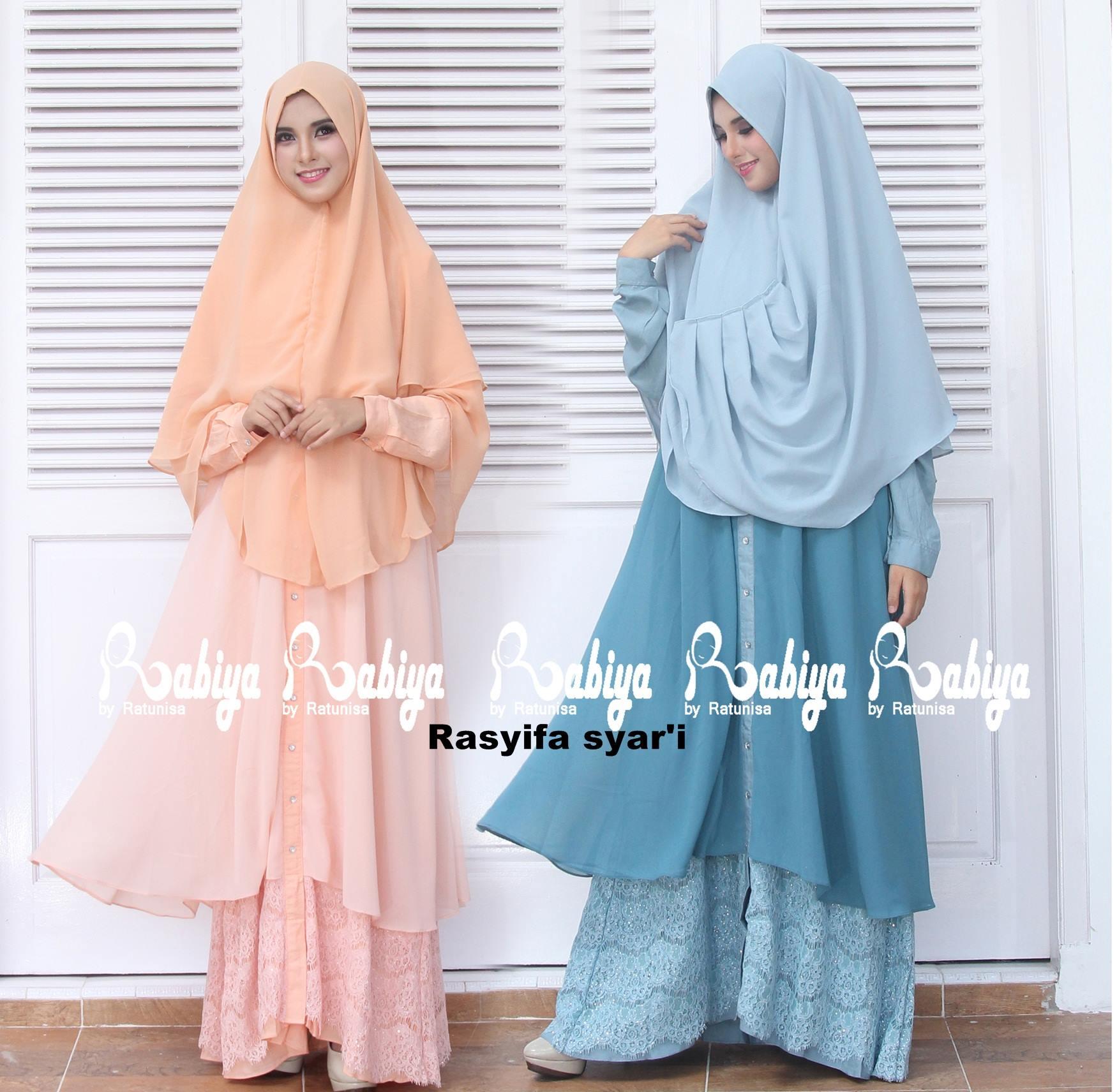 Rasyifa Syari Baju Muslim Gamis Modern