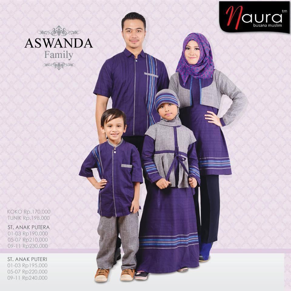 Aswanda Family Baju Muslim Gamis Modern