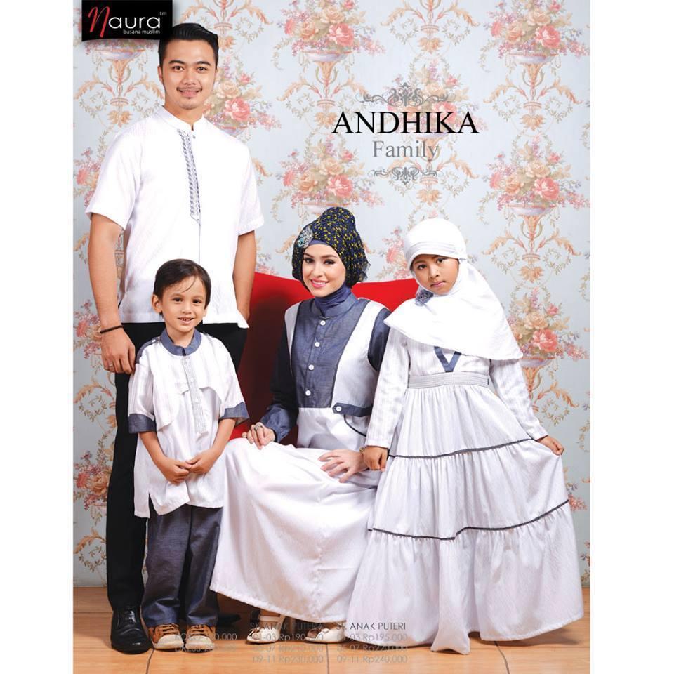Andhika Family Baju Muslim Gamis Modern