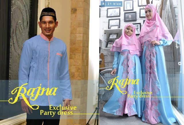 Raveena 4 Baju Muslim Gamis Modern