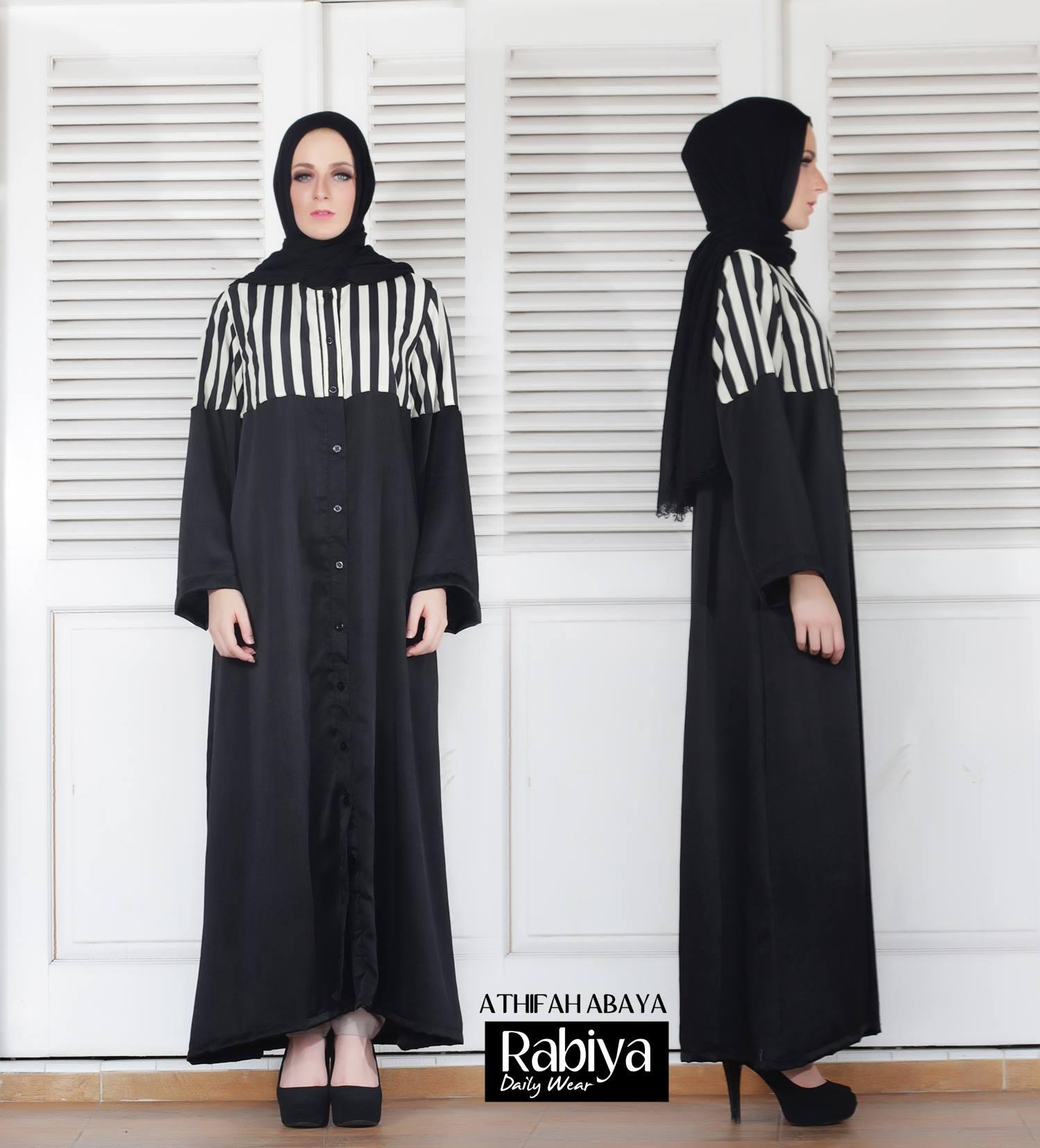 Athifah Abaya Baju Muslim Gamis Modern
