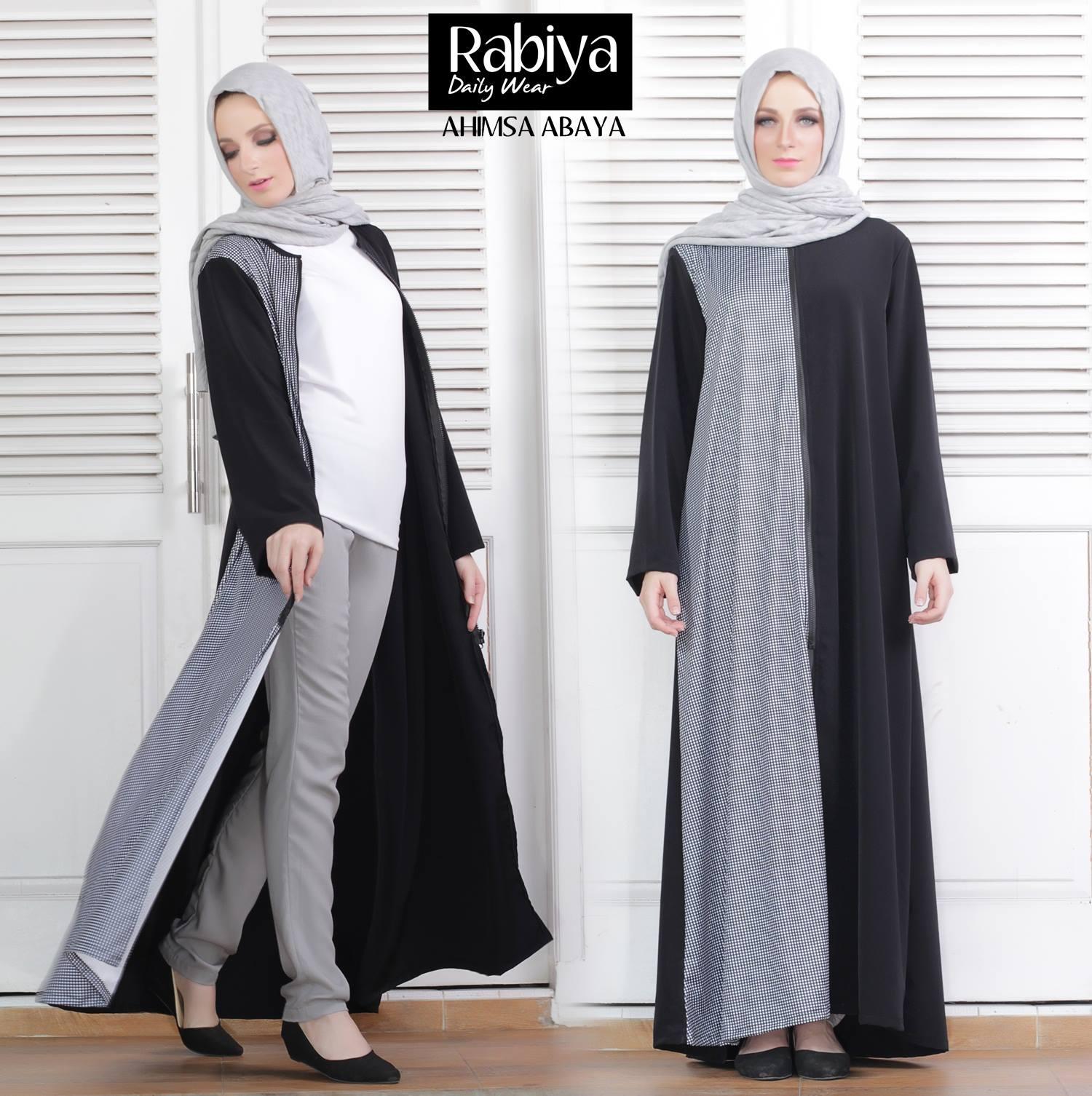 Ahimsa Tunik Baju Muslim Gamis Modern