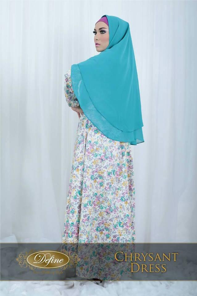 Chrysant Tosca Baju Muslim Gamis Modern