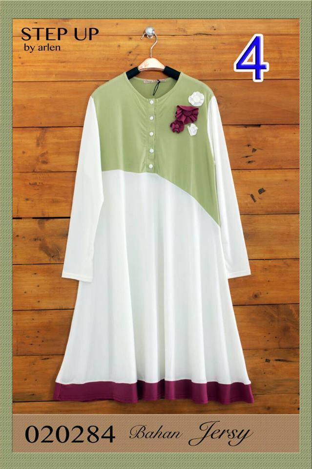 Tunik 020284 4 Baju Muslim Gamis Modern