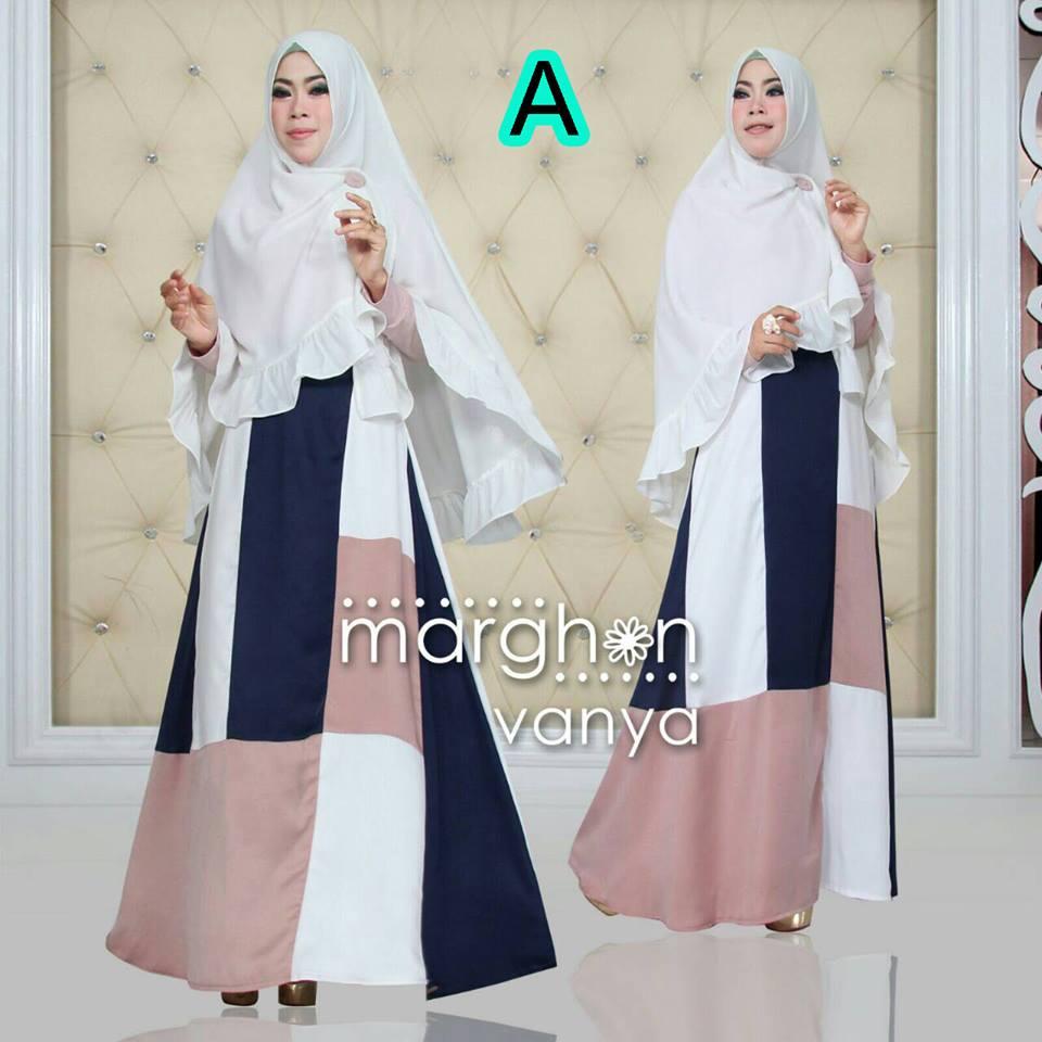Vanya Kode A Baju Muslim Gamis Modern