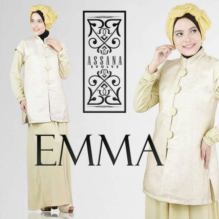 Model gamis pesta untuk ibu menyusui baju gamis pesta modern terbaru - Emma Corn Baju Muslim Gamis Modern
