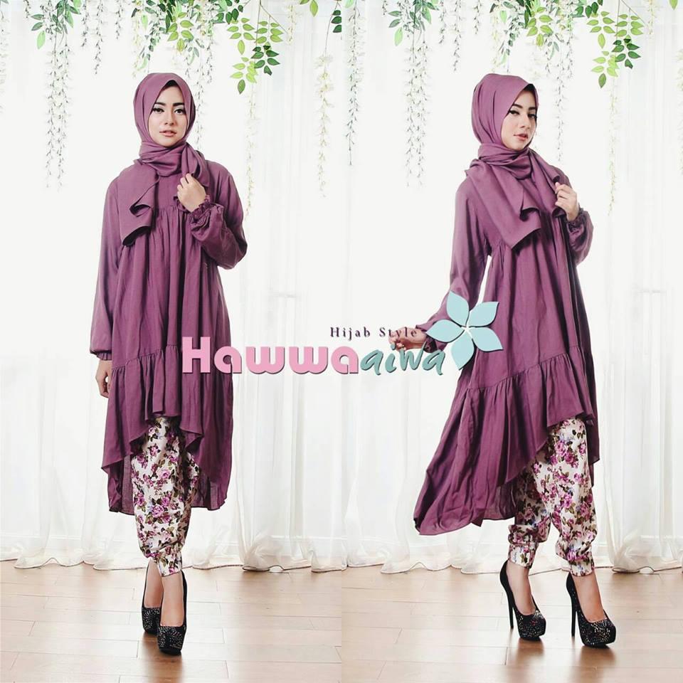 Elana Violet Baju Muslim Gamis Modern