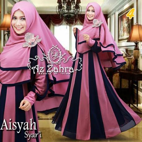 Aisyah 4 Baju Muslim Gamis Modern