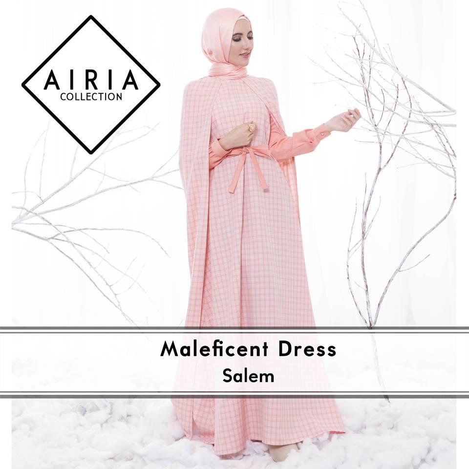 Maleficent Salem Baju Muslim Gamis Modern