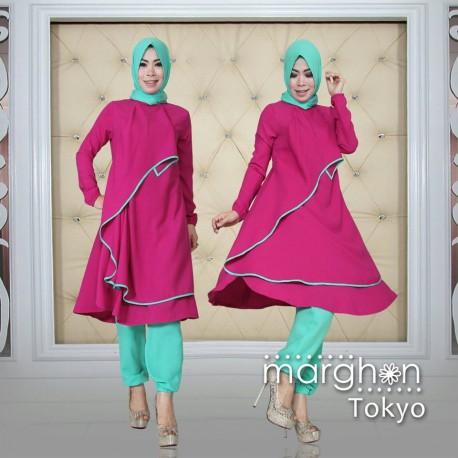 Tokyo Violet Baju Muslim Gamis Modern