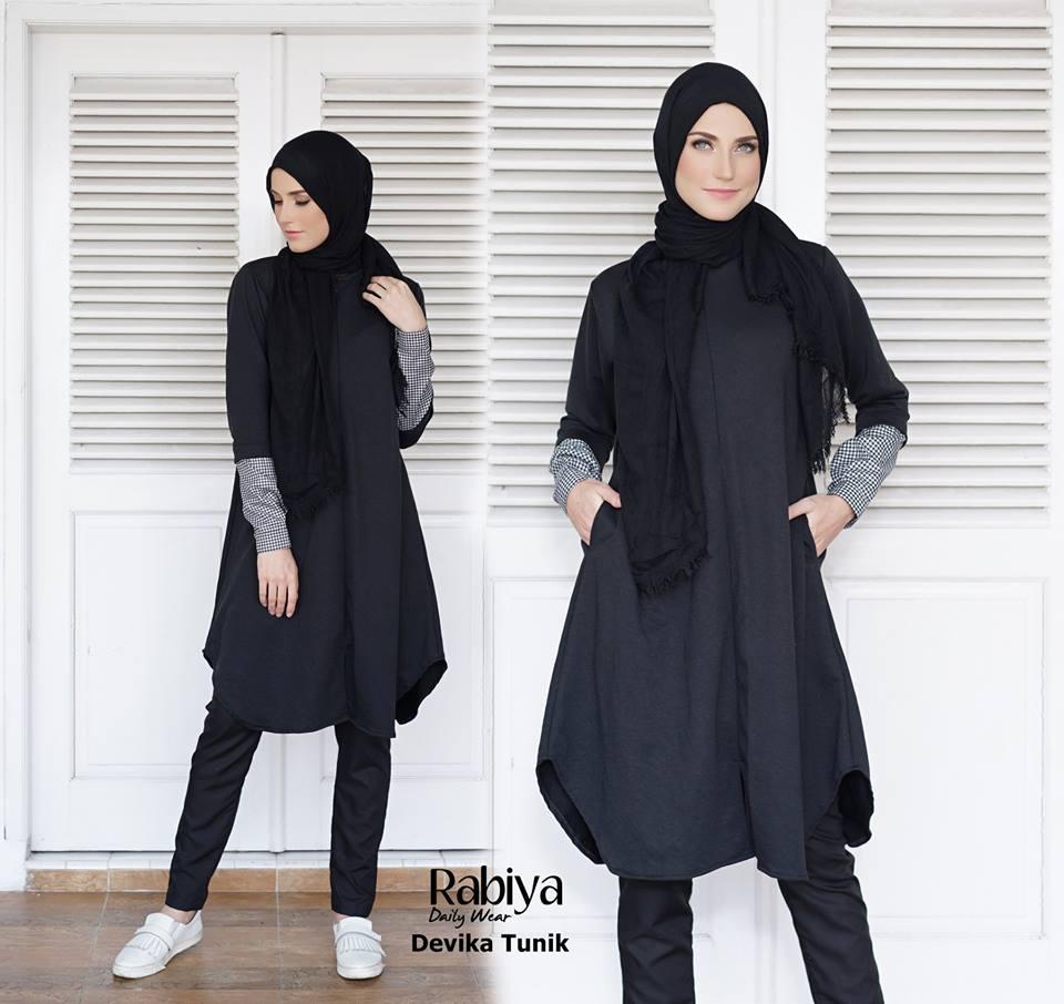 Devika Tunik Baju Muslim Gamis Modern