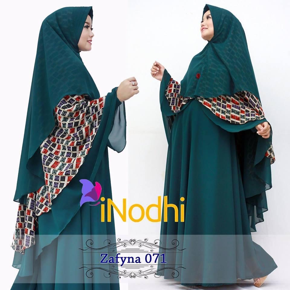 Zafyna 71 Baju Muslim Gamis Modern