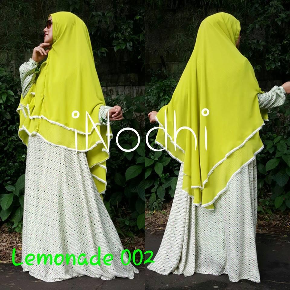 Lemonade 002 Baju Muslim Gamis Modern