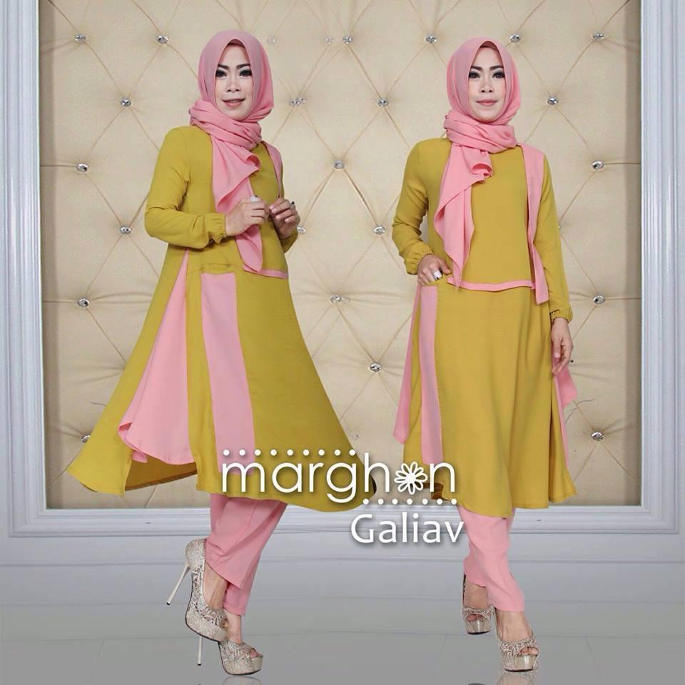 Galiav Gold Baju Muslim Gamis Modern