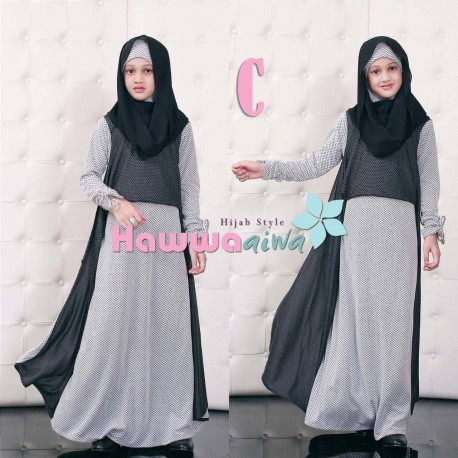 Moody Kid C Baju Muslim Gamis Modern