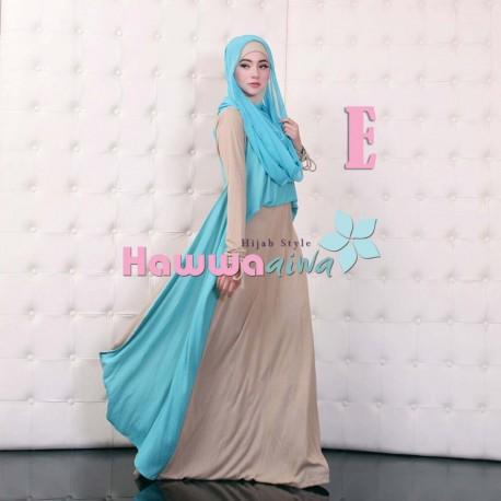 Moody Mom E Baju Muslim Gamis Modern