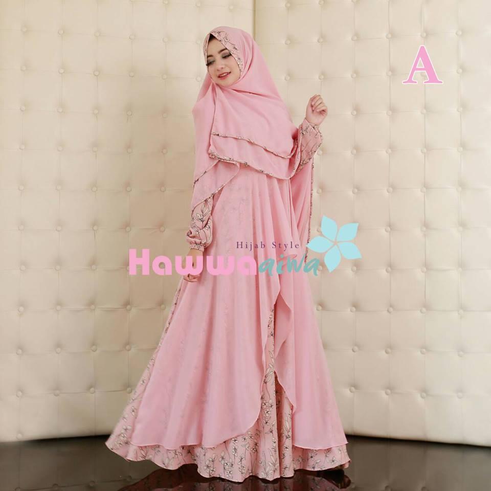 Suraya A Baju Muslim Gamis Modern