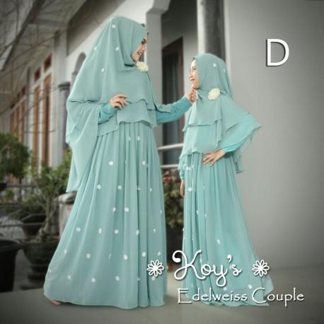 Edelweiss Mom Kids D Baju Muslim Gamis Modern