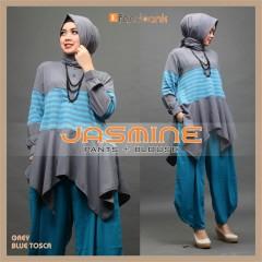 Jasmine by Efandoank Grey blue tosca