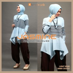 Jasmine by Efandoank Light blue choco