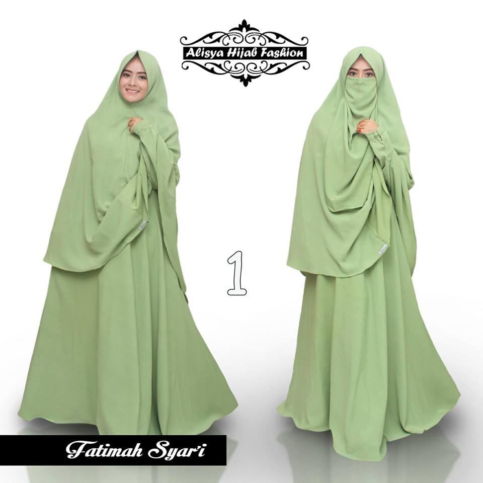 Fatimah 1 Baju Muslim Gamis Modern
