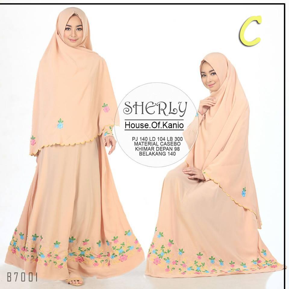 Sherly C Baju Muslim Gamis Modern