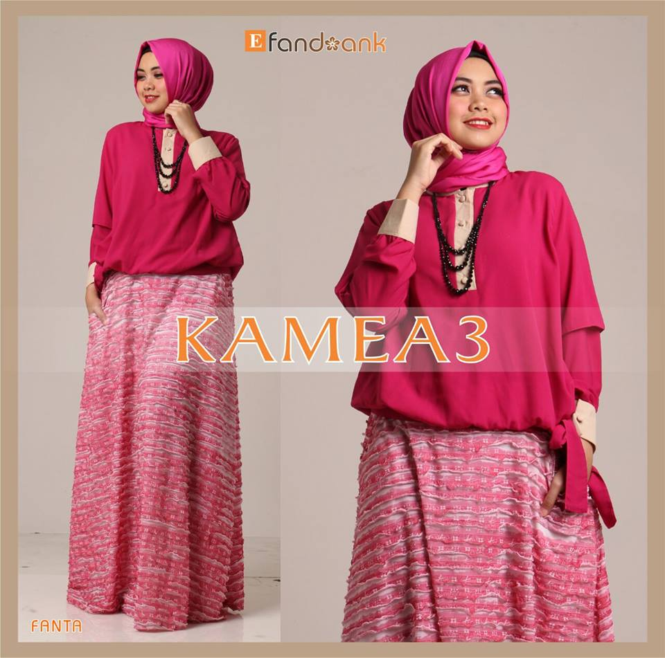 Kamea 3 Fanta Baju Muslim Gamis Modern