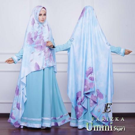 Farizka E Baju Muslim Gamis Modern