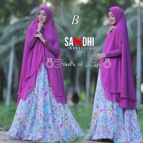 Jewels B Baju Muslim Gamis Modern