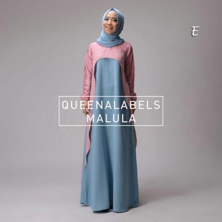 Malula E Baju Muslim Gamis Modern
